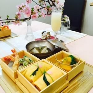 春のおもてなし和食膳