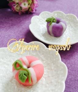7月の和菓子 朝顔