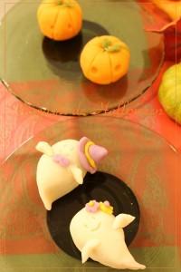 練り切り和菓子 ハロウィン